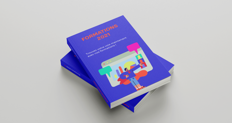 catalogue proposant des formations séparées par intérêt, la nouvelle fonctionnalité de Nordcompo qui fait des Catalogues on demand